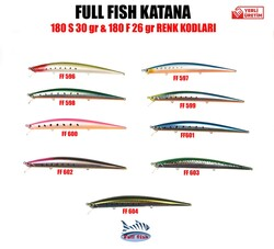 FullFish - Full Fish Katana 180 mm 30GR